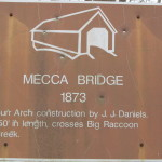 Mecca Bridge sign